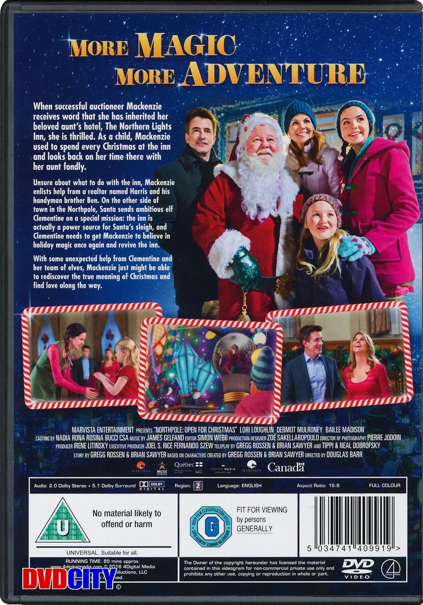 Northpole: Open For Christmas (2015) - dvdcity.dk