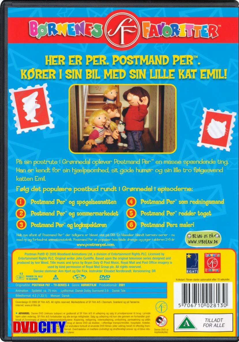 postmand per dansk